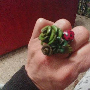 One of a kind Boho ring